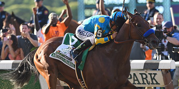 American Pharoah at Belmont Stakes