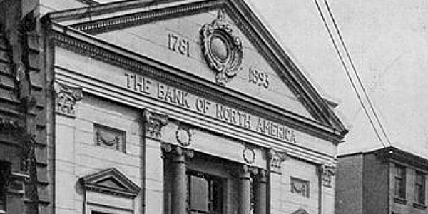 Bank of North America, Bank Building Built in 1893