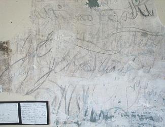 JEB Stuart's signature at the Griffiti House of Brandy Station