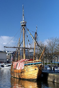 Replica of the ship the Matthew Bristol of John Cabot