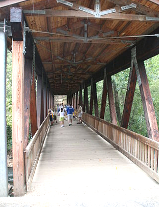 Roswell Mill Covered Bridge