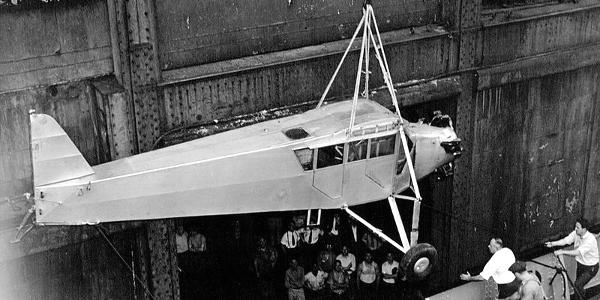 Plane of Wrong Way Corrigan