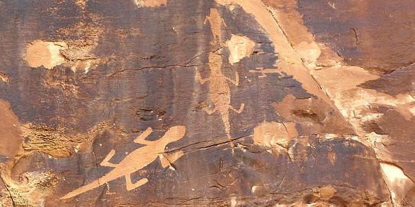 Petroglypths at Dinosaur National Monument