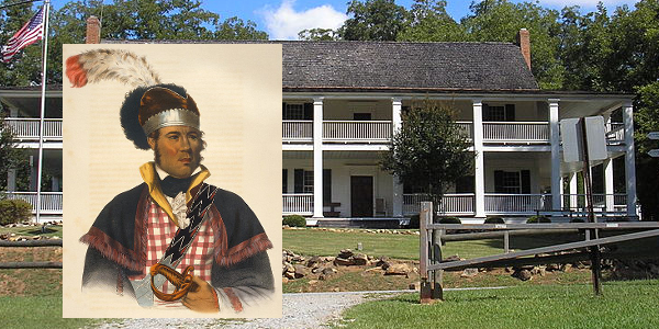 William McIntosh and the Indian Springs Hotel