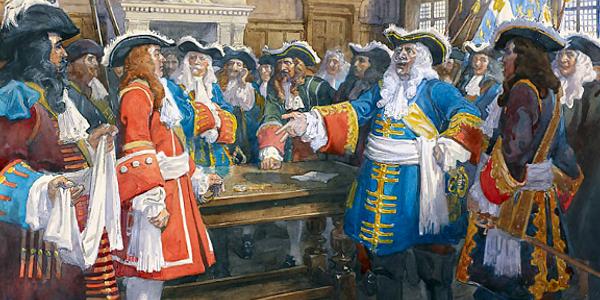 Timeline 1680's