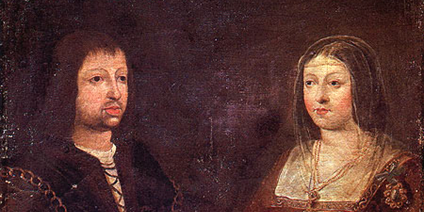 King of Aragon, Fernando and wife Isabel
