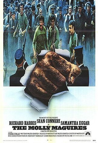 Movie Poster, the Molly Maguires
