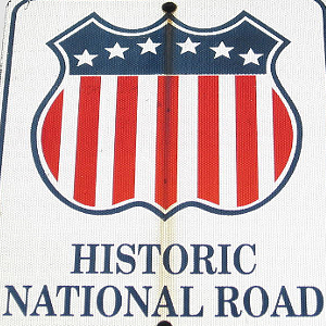 National Road Sign