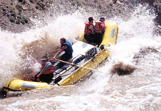 Rafting at Canyonlands