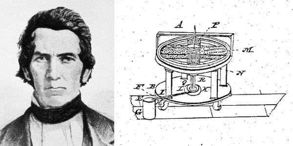 Thomas Davenport Patent, Printing Press