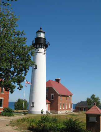 Pictured Rocks lighthouse
