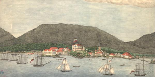 Sitka, Russian American 1837