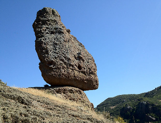 Santa Monica Mountains Balance Rock