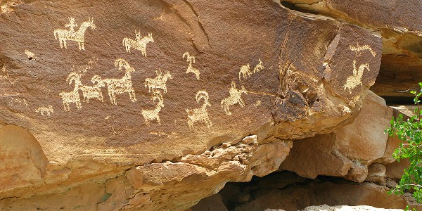 Ute Rock Art at Arches National Park
