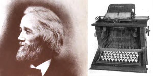 Sholes and his Typewriter