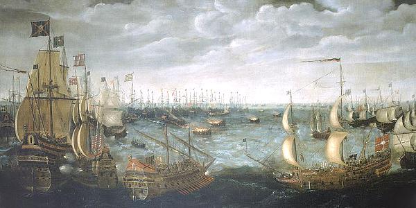 English defeat Spanish Armada