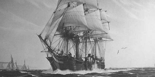 SS Savannah Steamship
