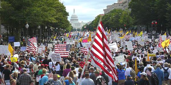 Tea Party Protest Washington, D.C.
