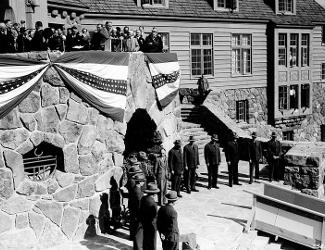 Roosevelt at Timberline Lodge Dedication