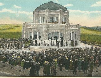 Dedication of Vista House 1918