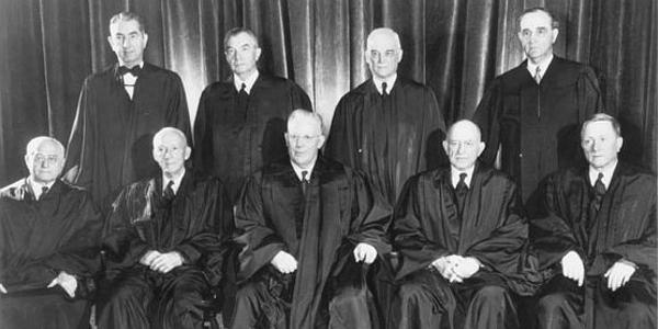 U.S. Supreme Court Member 1953