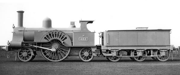 Locomotive Exhibit at London 1862