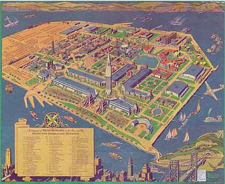San Francisco 1939 Fairgrounds Map