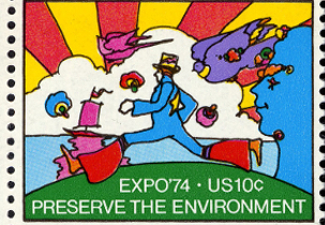 Official Stamp, Expo '74