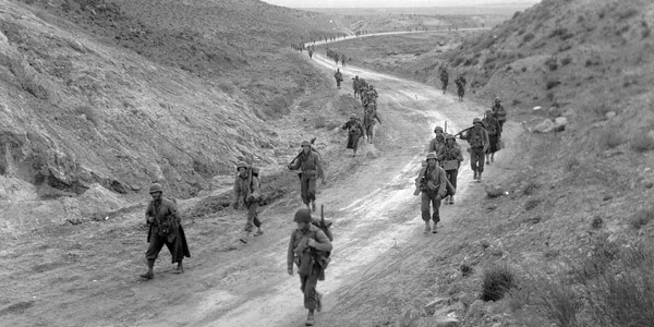 U.S. Soldiers at Kasserine Pass