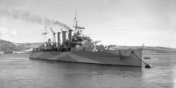 HMS Berwick, World War II