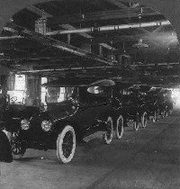 Automobile Factory, Detroit circa 1917