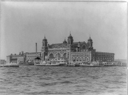 Historic Ellis Island photo