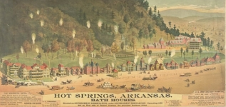Bath Houses of Hot Springs, Arkansas