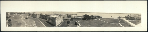 Castillo de San Marcos, 1912
