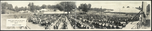 National Memorial Reunion and Peace Jubilee at Vicksburg, 1917