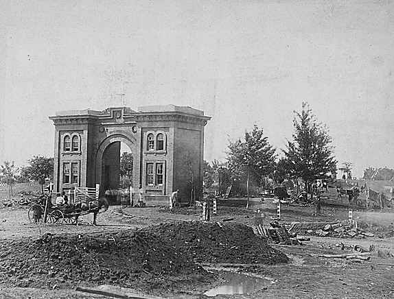 Cemetery Gate 1863
