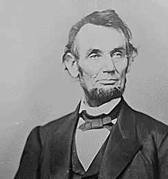 President Abraham Lincoln archival photo