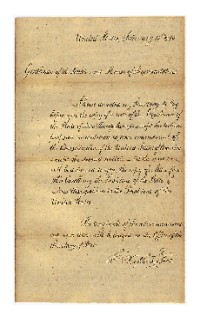 George Washington Note