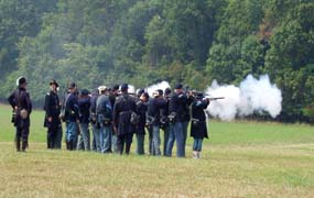 Battle of Bull Run Reenactment