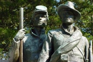 Confederate Monument at Shiloh Battlefield