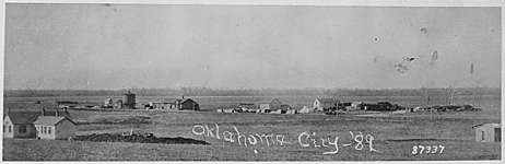 Oklahoma City 1889, prior to Land Rush