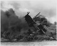 USS Arizona, Attack on Pearl Harbor