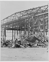 Naval Air Station after Pearl Harbor attack