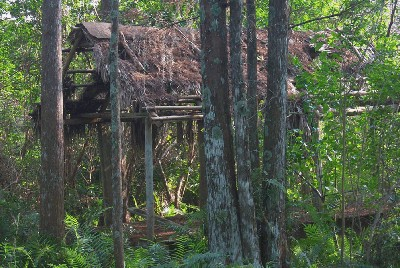 Seminole Indian ruins