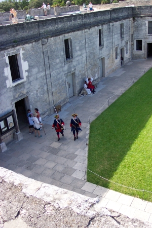 Interior of Castillo de San Marcos National Monument