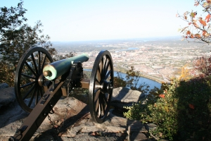 Cannons at Chattanooga