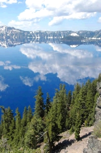 Crater Lake National Park today