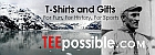 TeePossible Tees, T-Shirts & Sweatshirts from America's Best History & National Parks