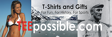 TeePossible.com T-Shirts, Tank Tops, Sweatshirts